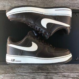 Nike Air Force 1 Low Black Tea/White 488298-201